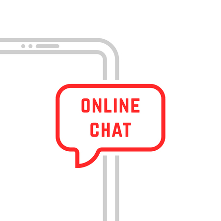 online chat with thin line phone