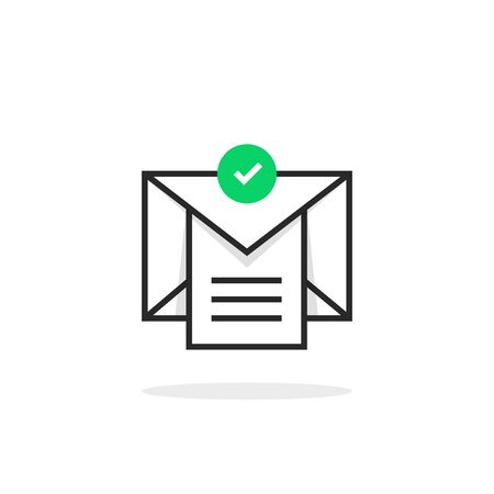 confirmation email with checklist
