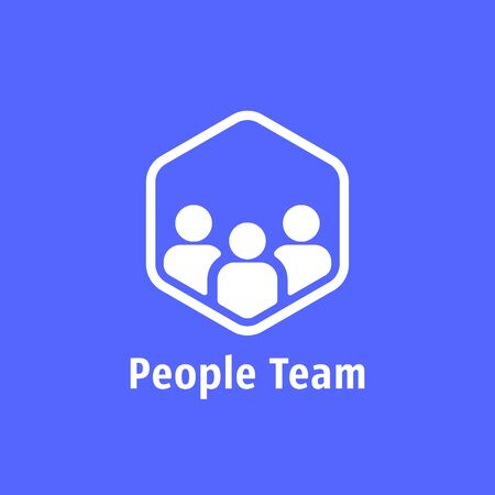 people team like together 向量圖像