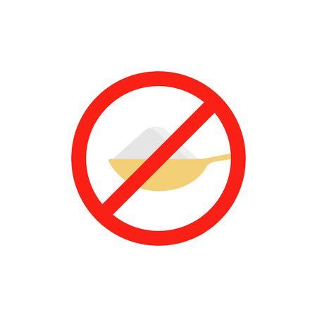 sugar or salt free with teaspoon