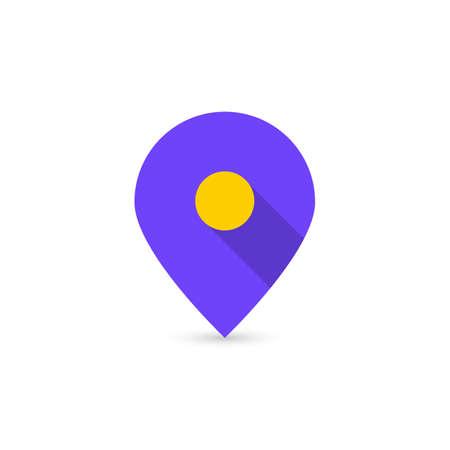 map location icon like geotag Ilustrace