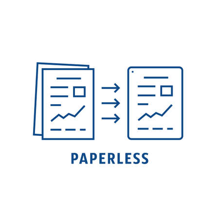 paper evolution to files like paperless