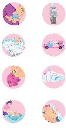 nappies: babies