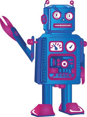 retro robot Stock Photo - 6623657