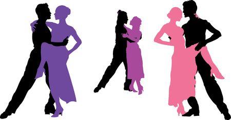 stijl dansen Stockfoto