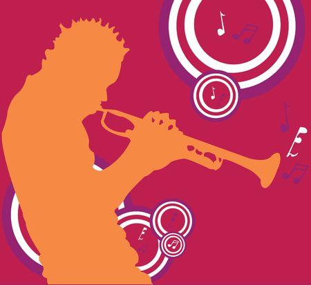 blacks: Trumpet Player