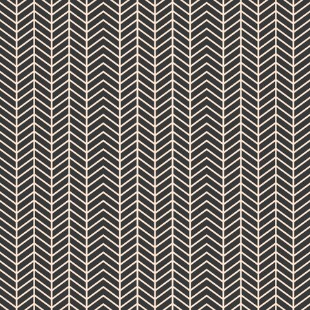 Geometrical zigzag stripes seamless pattern vector - Almond,grey. Great for fabric,backgrounds,wallpaper, graphic textures etc. Çizim
