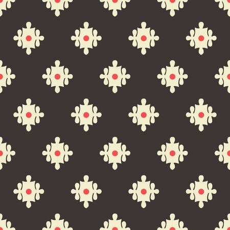 Charcoal grey victorian ornament vector illustration background- Perfect for backgrounds,fabric,wallpapers,curtain etc.