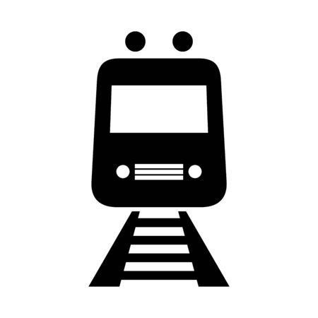 Train station sign vector illustration. Perfect for sign,symbol,label,icon,sticker etc. Çizim