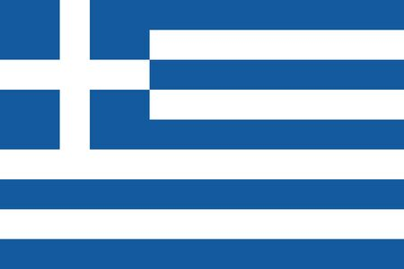 Greece national flag graphics background. Perfect for backgrounds, backdrop, business concepts, badge, sticker, icon, sign, symbol and wallpaper.
