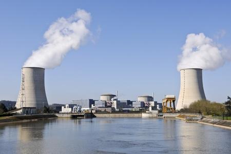 france, golfech nuclear Stock Photo - 9836800