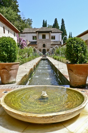 spain, granada, palace of the alhambra, culture mosarabe