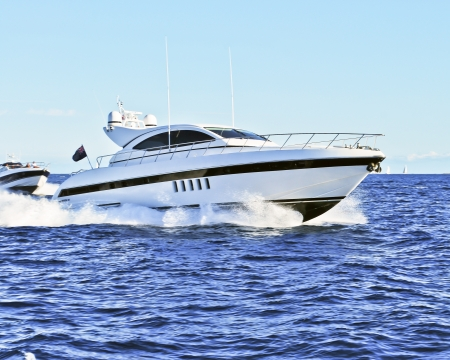 yacht in motion Stock Photo - 9836807