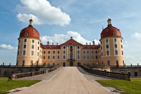 schloss: moritzburg near dresden, former resort of the kings of saxony