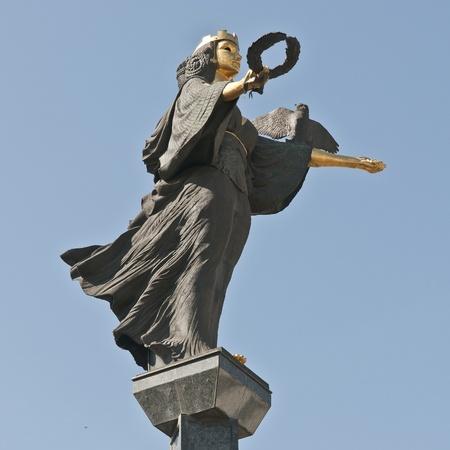 statue of st. sofia in sofia, bulgaria Editorial