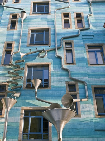 facade of a building in dresden, germany