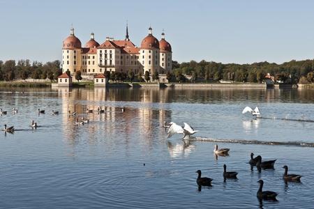 moritzburg castle near dresden in germany