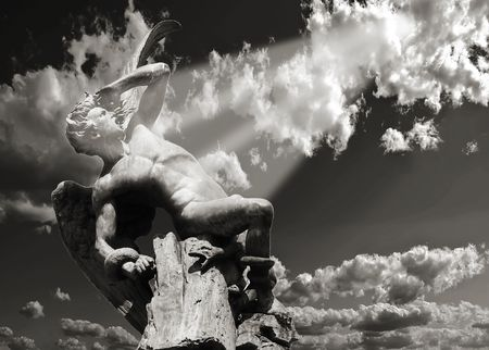 Fall of an angel