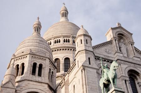 sacre coeur: Vue sur le Sacr� Coeur blanc � Paris