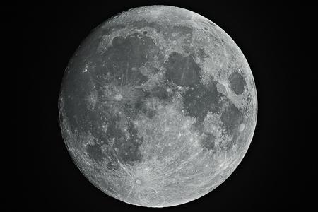 Pełna fazy księżyca Zdjęcie Seryjne