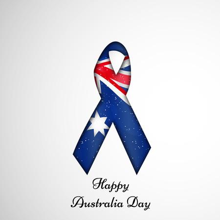 Illustration of Australia Flag for Australia Day