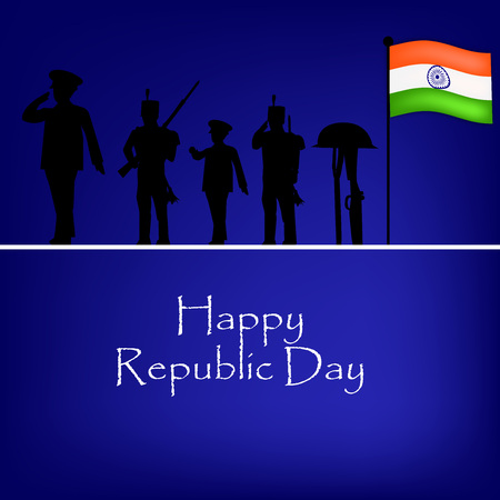 Republic Day Background Illustration