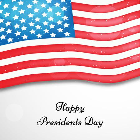 President's Day achtergrond Stock Illustratie