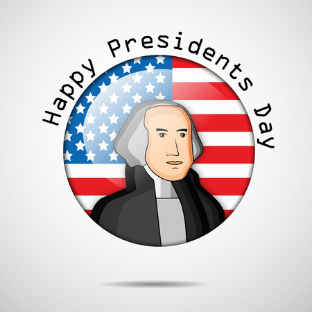 george washington: Presidents Day background