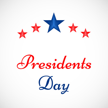 george washington: Illustration of background for the occasion of Presidents Day Illustration