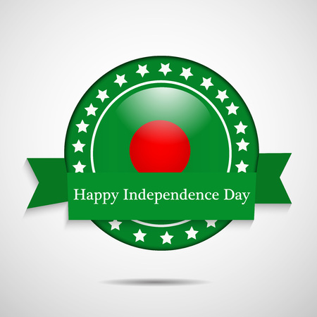 Illustration of Bangladesh Flag for Bangladesh Independence Day Illustration