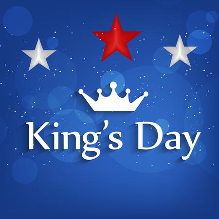 27: Illustration of Netherlands Flag for Kings Day