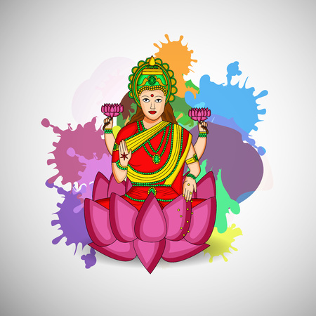 auspicious: Illustration of background for Akshaya Tritiya