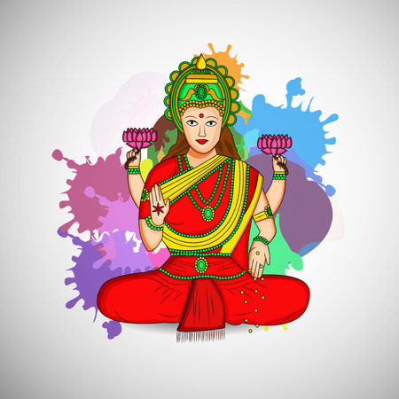 Illustration of background for Akshaya Tritiya