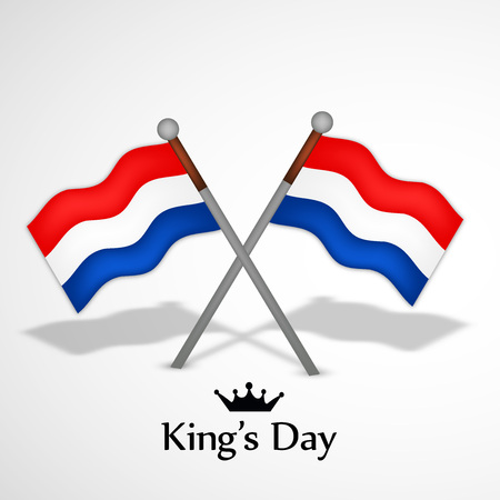 Illustration of background for Kings Day