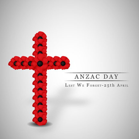 memory card: Illustration of background for Anzac Day