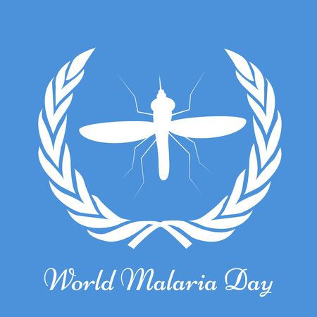 Illustration of background for World Malaria Day