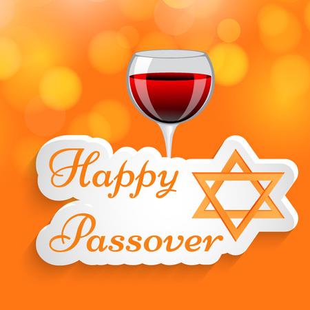 Illustration of background for Passover Illustration