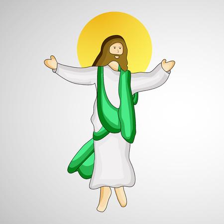Ascension Day background Illustration