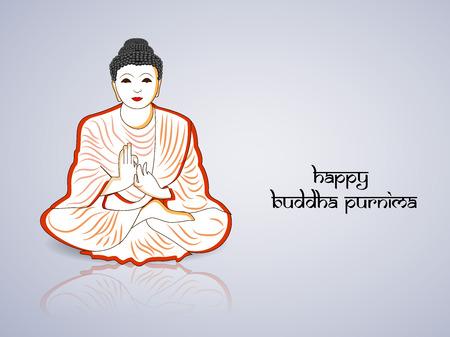 Buddha Purnima background
