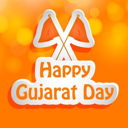 gujarat: Gujarat Day background Illustration