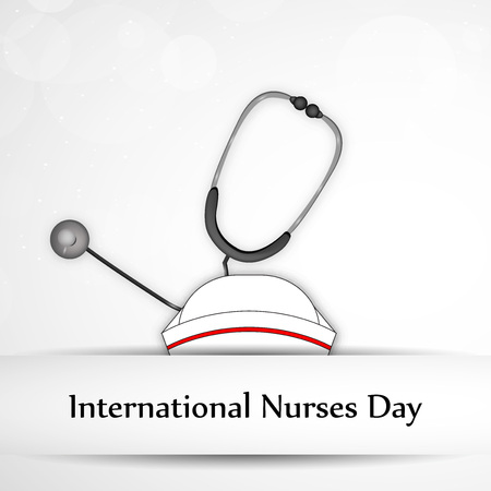 International Nurse Day background