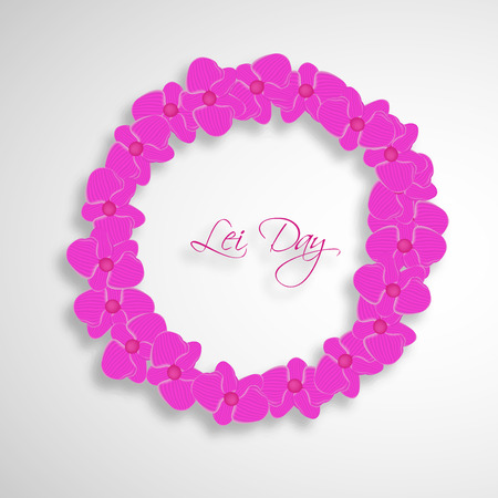 Lei Day background