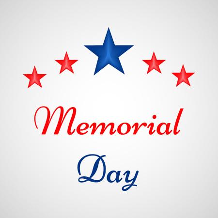 Memorial Day background Illustration