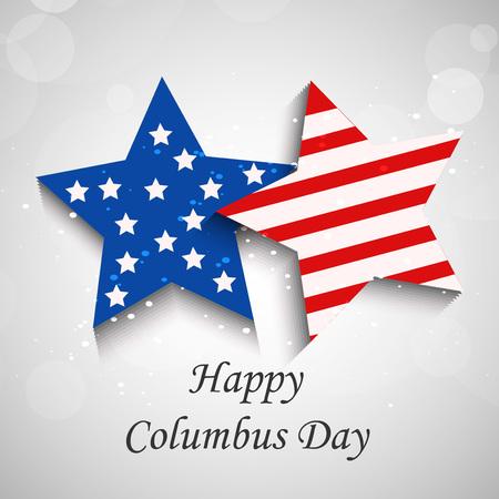 Columbus Day background Vector Illustration