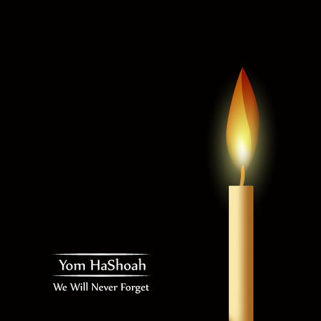holocaust: Jewish Yom HaShoah Remembrance Day background