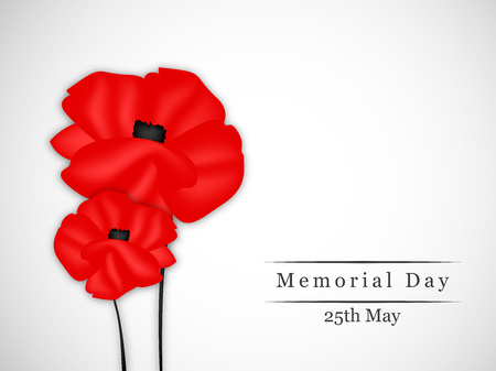 Memorial Day background Stock Vector - 78327020