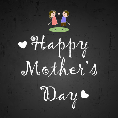 Mother's Day background Vetores