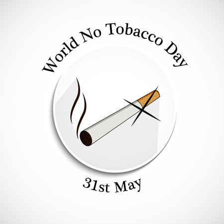 World No Tobacco Day background
