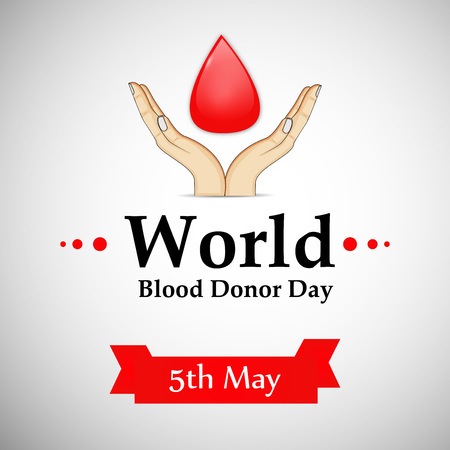 World Blood Donor Day background