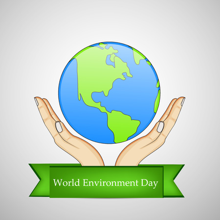 madre tierra: World Environment Day background